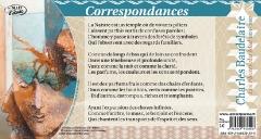 Texte intégral du poème 'Correspondances' de Charles Baudelaire.