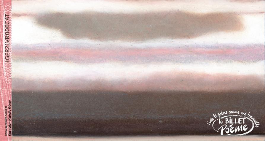 Pastel à l\'huile original de Nathalie FREOUR