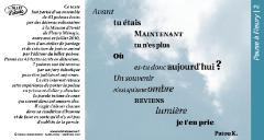Pause à Fleury /2_poème Patou K.