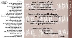 Pause à Fleury /5_ poème Patou K.