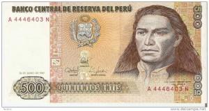 Billet péruvien