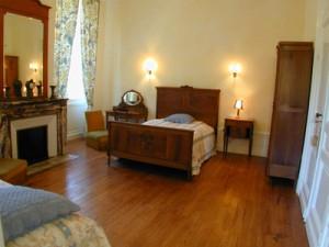 une des chambres du château